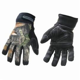 Youngstown® 05-3470-99 Winter Glove, Waterproof, Synthetic Leather Palm, Thinsulate™ Fleece Liner, Camouflage