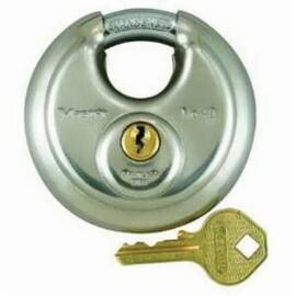 Master Lock® 40Ka Zenex™ Safety Padlock, Alike Key, 3/8 In Shackle, Stainless Steel Body