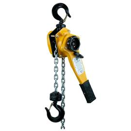 AMH™ LC015-20ZS Badger Lever Hoist, 1.5 ton, 20 ft Lift with Shipyard Hooks