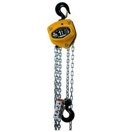 AMH™ CB015-10-08Z Badger Manual Hoist, 1.5 ton, 10 ft Lift, 08 ft Drop