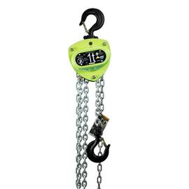 AMH™ MA005-10-08Z Manual Hoist, 0.5 ton, 10 ft Lift, 08 ft Drop