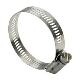 Dixon® Hs80 Hs Series Worm Gear Clamp, 2-1/2 To 5-1/2 In Clamp, Stainless Steel Band, Domestic