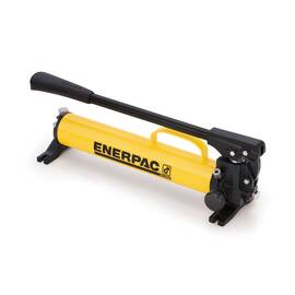 Enerpac® P77, Two Speed, ULTIMA Steel Hydraulic Hand Pump, 41 cu-in Usable Oil