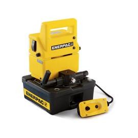 Enerpac® PUJ1200B, Two Speed, Economy Electric Hydraulic Pump, 3/2 Manual Valve, 115V, For use with Single-Acting Cylinders
