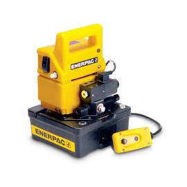 Enerpac® PUD1100B, Two Speed, Economy Electric Hydraulic Pump, Dump Valve, 115V, For use with Single-Acting Cylinders