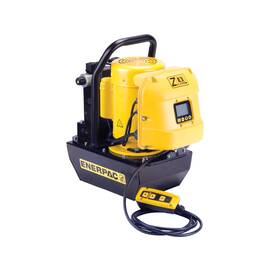 Enerpac® ZE3308SB, Electric Hydraulic Pump, 3/3 Solenoid Valve, Electric Box and LCD, 2.0 gal Usable Oil, 40 cu-in/min Oil Flow at 10,000 Psi, 115V