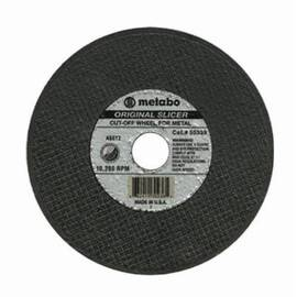 Metabo® 655331000 Type 1 Cut-Off Wheel, 4-1/2 In Dia X 0.04 In Thk, 7/8 In, A60Tz Grit, Aluminum Oxide Abrasive