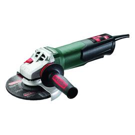 metabo® Electric Angle Grinder, Tool/Kit: Bare Tool, 6 in Wheel Dia, 5/8-11 UNC, 9600 rpm No Load/7000 rpm Rated Load, 110 to 120 VAC, 10.5 A, Barrel Grip/metabo® VibraTech, 8 ft Cord, Non-Locking Paddle Switch Control, 93 dBA Pressure Level/104 dBA Pow