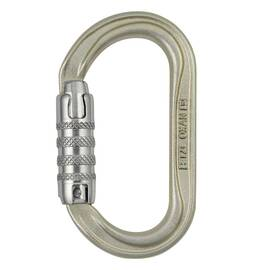 Petzl® M72A TLA OXAN High Strength Oval Carabiner, NFPA, ANSI & CSA, TRIACT-LOCK, 20mm Gate Opening, Gold