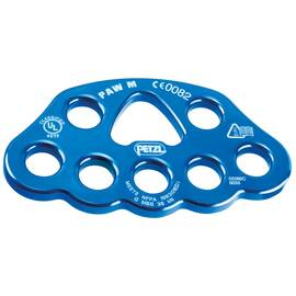 Petzl® P63 M PAW Rigging Plate for Organization and Multi-Anchor Systems, Blue