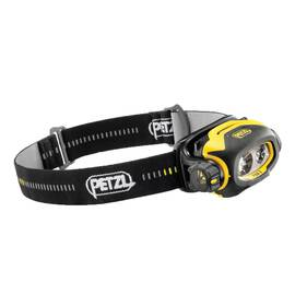 Petzl® E78CHB 2UL PIXA® 3, Headlamp for use in HAZLOC Class I Div 2 and Class II Div 2 explosive environments, 100 Lumens, Black/Yellow